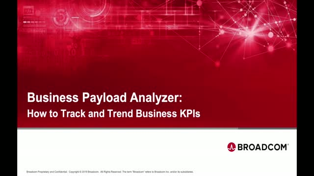 Business Payload Analyzer: How to Track and Trend Business KPIs