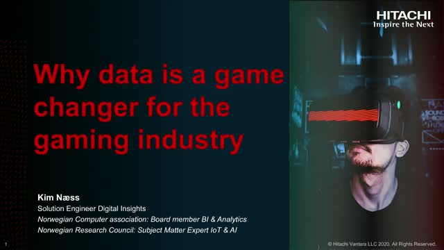 Why data is a game changer for the gaming industry