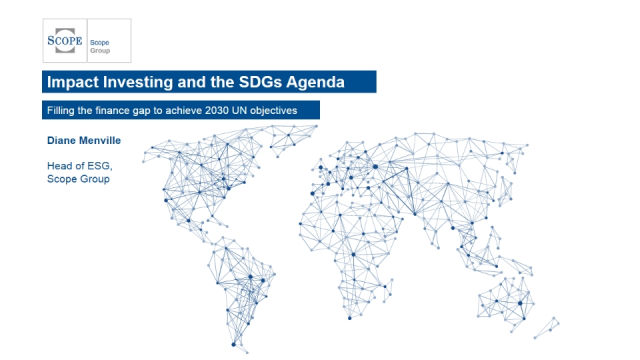 Impact Investing and SDGs Agenda: Filling the finance gap for 2030 UN objectives