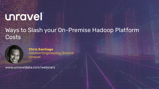 5 Ways to Slash your On-Premise Hadoop Platform Costs