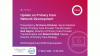 Update on Primary Care Network Development – NHS England and NHS Improvement