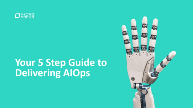 Your five-step guide to delivering AIOps
