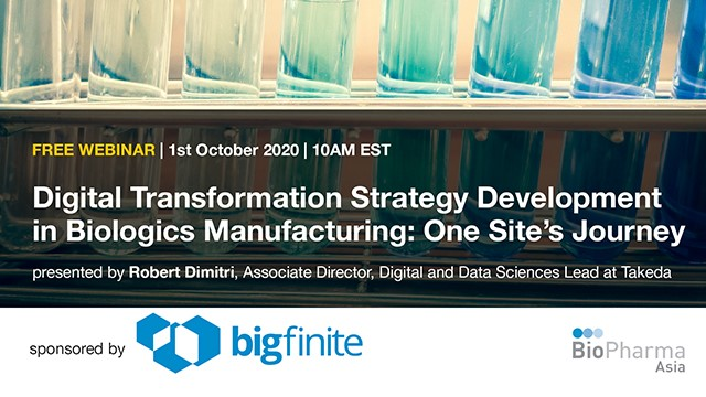 Digital Transformation Strategy Development in Biologics Manufacturing