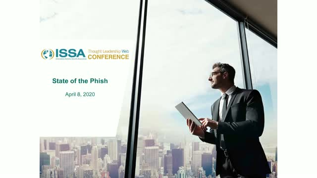 ISSA Thought Leadership Series: Proofpoint State of the Phish 2020