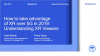 How to take advantage of XR over 5G: Understanding XR Viewers
