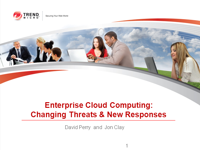 Enterprise Cloud Computing: Changing Threats and Evolving Security