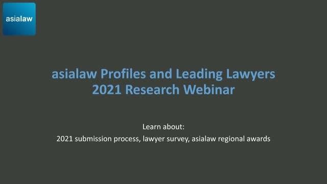 asialaw 2021 - Your research questions answered
