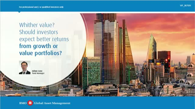Should investors expect better returns from growth or value portfolios?