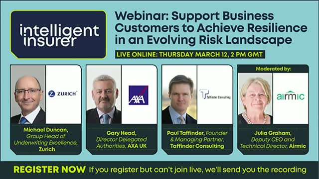 Support Business Customers to Achieve Resilience in an Evolving Risk Landscape