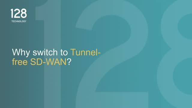 Why Switch to Tunnel-Free SD-WAN?