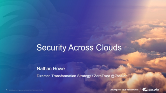 Security Across Clouds