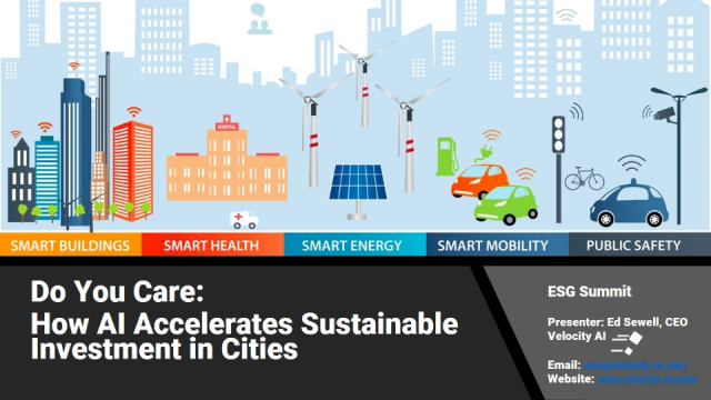 Do You Care: How AI Accelerates Sustainable Investment in Cities