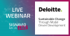 Signavio Live Series: Sustainable Change with Deloitte