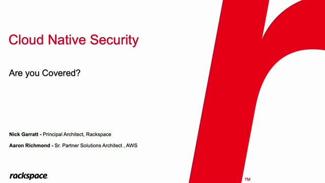 Cloud Native Application Security: Have You Covered All Your Bases?