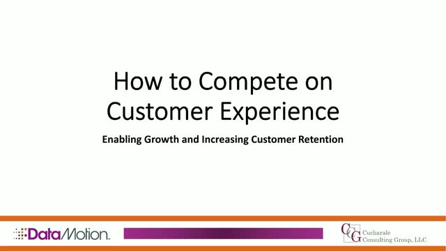 How to Compete on Customer Experience