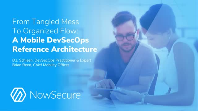 From Tangled Mess to Organized Flow: A Mobile DevSecOps Reference Architecture