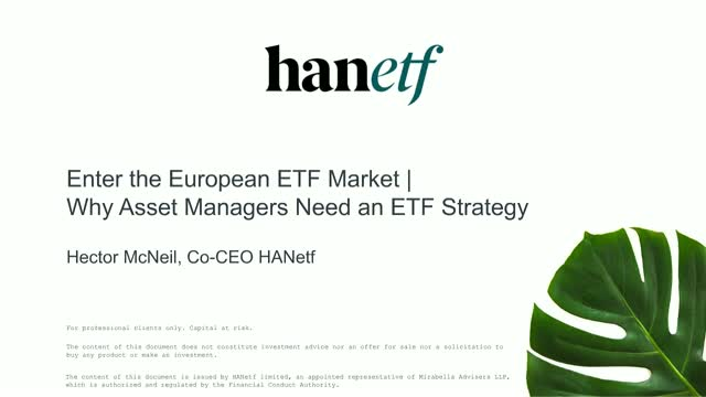 Enter the European ETF Market | Why Asset Managers Need an ETF Strategy
