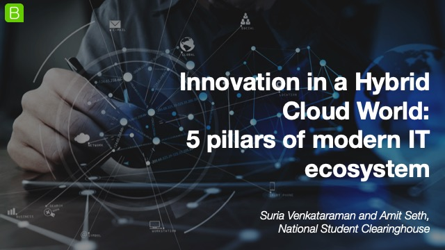 Innovation in a Hybrid Cloud World: 5 pillars of modern IT ecosystem