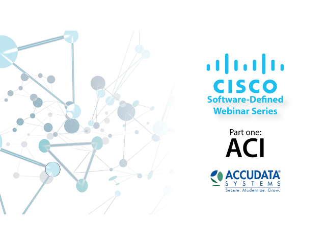 ACI -- Software-Defined Webinar Series