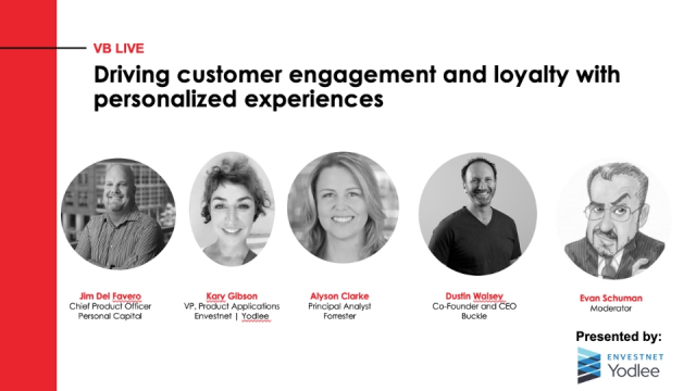 Driving customer engagement and loyalty with personalized experiences
