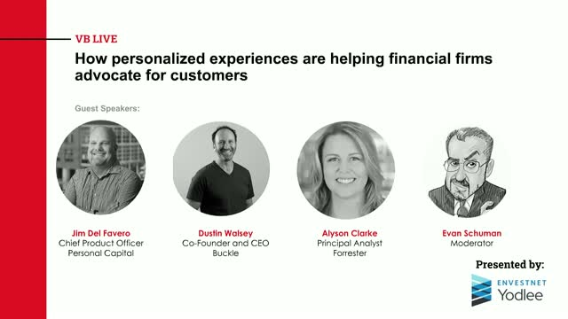 How personalized experiences are helping financial firms advocate for customers