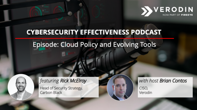 Cybersecurity Effectiveness Podcast: Cloud Policy and Evolving Tools