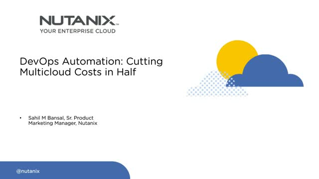 DevOps Automation: Cutting Multicloud Costs in Half