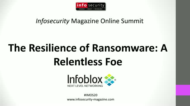 #IMOS20 - The Resilience of Ransomware: A Relentless Foe
