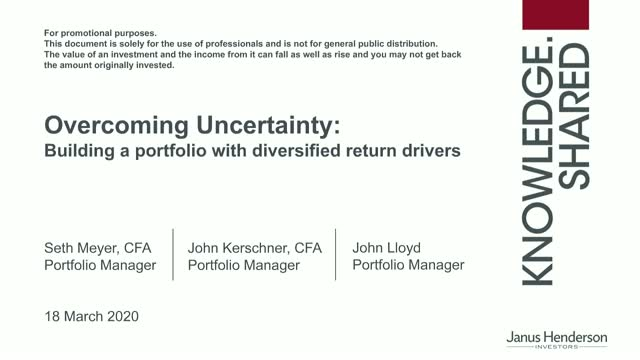 Overcoming uncertainty: building a portfolio with diversified return drivers