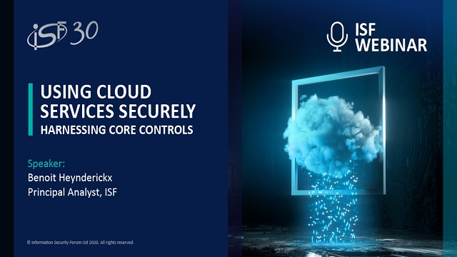 Using Cloud Services Securely: Harnessing core controls