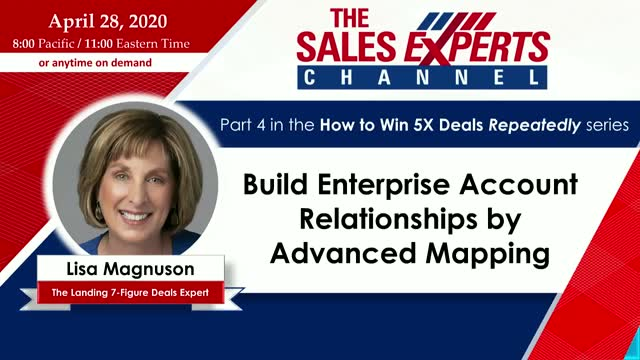 Build Enterprise Account Relationships by Advanced Mapping