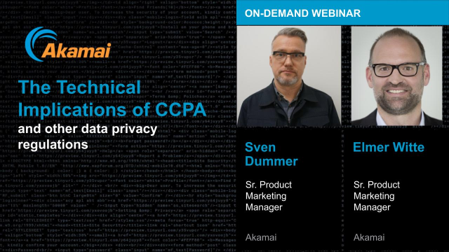 The Technical Implications of CCPA and Other Data Privacy Regulations