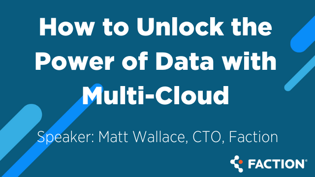 How to Unlock the Power of Data Availability with Multi-Cloud