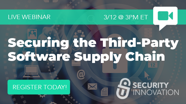 Securing the Third-Party Software Supply Chain