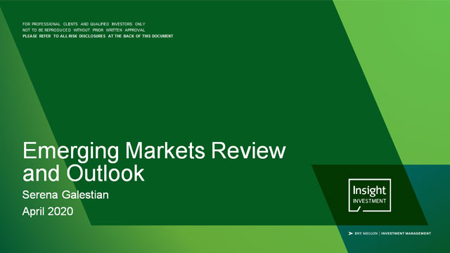Emerging markets review and outlook | April 2020