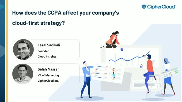 How does the CCPA affect your company's cloud-first strategy?