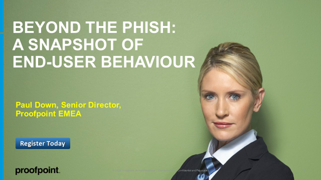 Beyond the Phish:  A Snapshot of End-User Behavior