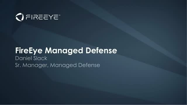 Enhance Your Security Posture with Managed Defense