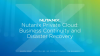 How Nutanix Private Cloud Enables Business Continuity and Disaster Recovery
