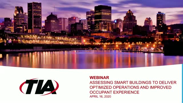 Assessing Smart Building Intelligence to Deliver Value, Optimized Operations