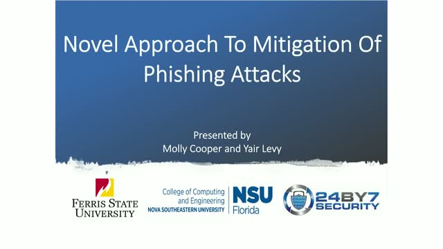 Novel Approach To Mitigation Of Phishing Attacks