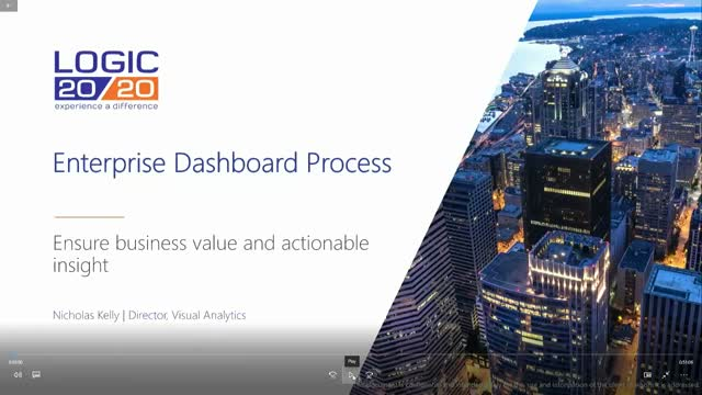 Enterprise Dashboard Process