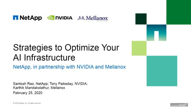 Strategies to Optimize Your AI Infrastructure