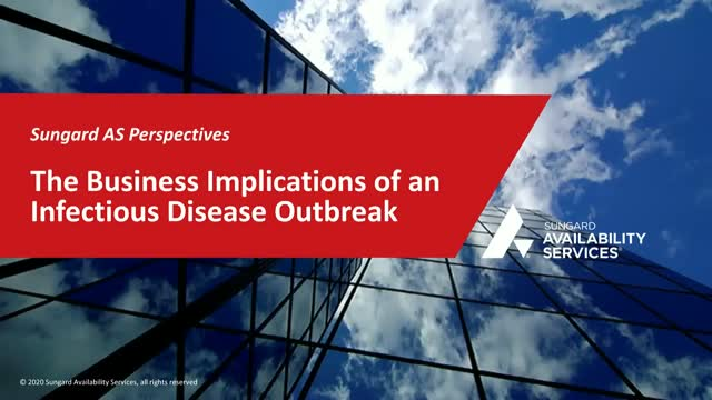 The Business Implications of an Infectious Disease Outbreak