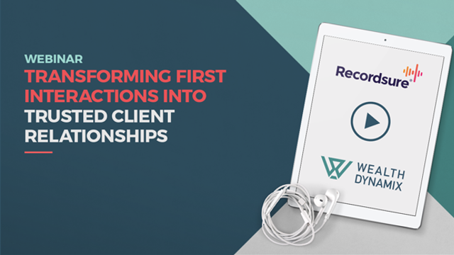 Transforming first interactions into trusted client relationships