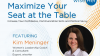 Maximize Your Seat at the Table : Increase Your Confidence, Communication Skills