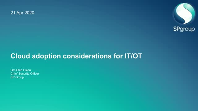 Cloud Adoption Considerations for IoT and OT