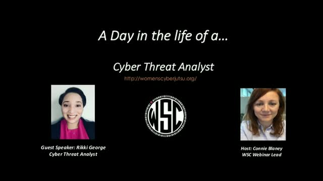 A day in the life of a - Cyber Threat Analyst