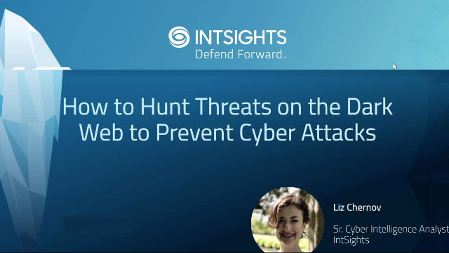 How to Hunt Threats on the Dark Web to Prevent Cyberattacks