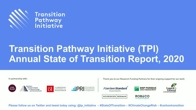 TPI Annual State of Transition Summit